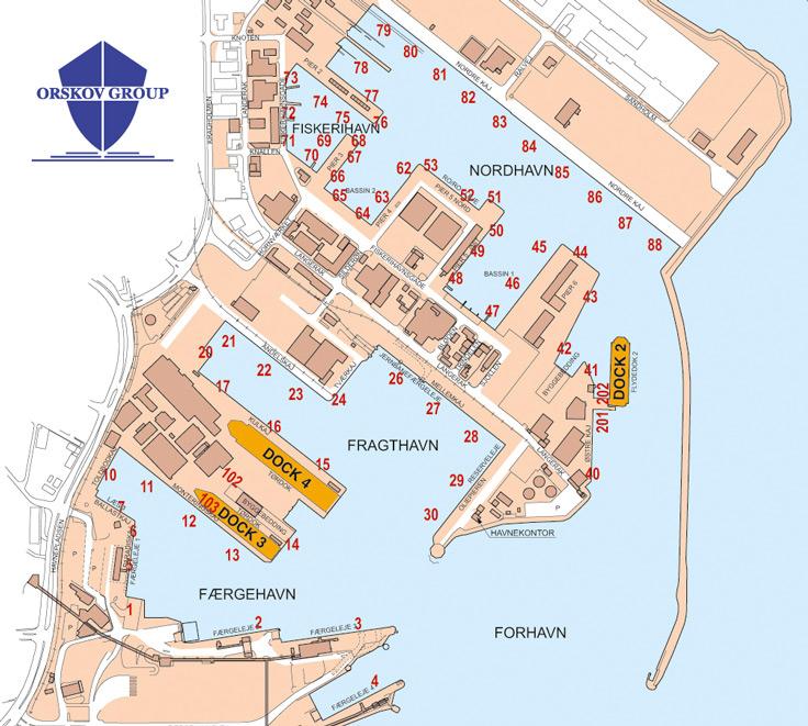 Harbour Map Orskov Group